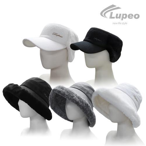 루페오 겨울 방한 여성 썬캡 벙거지 골프모자 5종택1