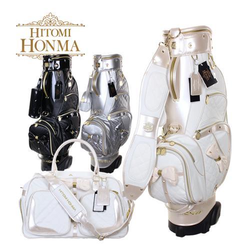 [2020년신상]HITOMI HONMA 히토미 혼마 프리미엄 여성용 핸드케리어 캐디백보스톤백세트(KN-01808)