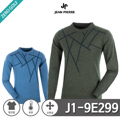 [JEAN PIERRE] 쟌피엘 유니크 디자인 울 라운드 니트티셔츠 Model No_J1-9E299