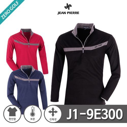 [JEAN PIERRE] 쟌피엘 차이나 카라 후리스 하프집업 티셔츠 Model No_J1-9E300