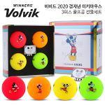 [VOLVIK] 볼빅 2020 쥐띠해 비비드 4구 미키마우스 패키지