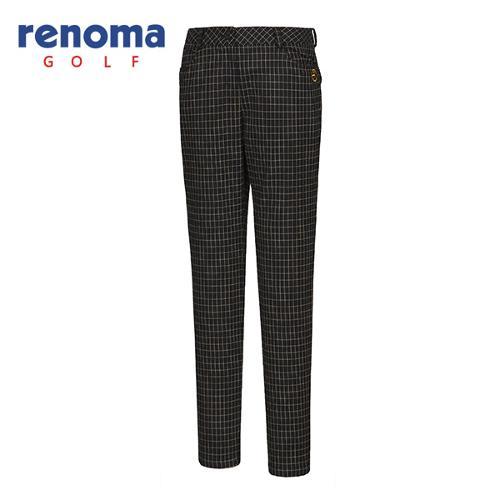 [레노마골프]여성 격자 무늬 슬림 팬츠 RWPTF8510-120