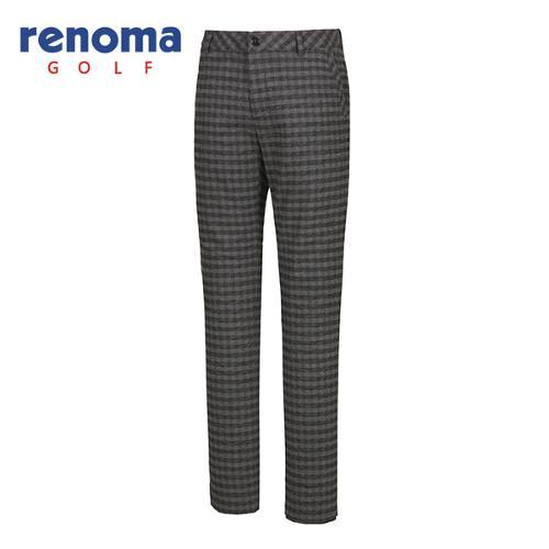 [레노마골프]남성 체크 패턴 포인트 팬츠 RMPTF4511-199