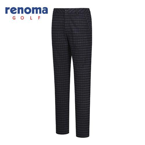 [레노마골프]남성 체크 패턴 포인트 팬츠 RMPTF4511-120