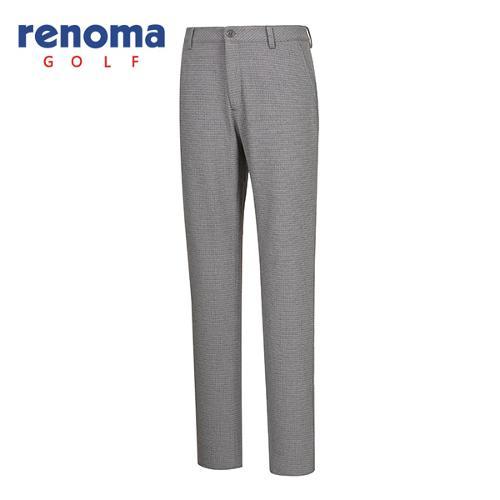 [레노마골프]남성 격자 무늬 패턴 팬츠 RMPTF4505-195