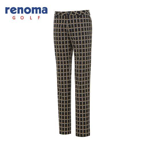 [레노마골프]남성 캐주얼 사각 패턴 팬츠 RMPTF3511-203