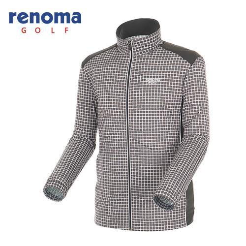 [레노마골프]남성 플레이드 바람막이 집업 점퍼 RAJP01541-GR