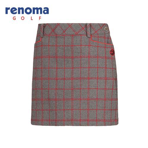 [레노마골프]여성 캐주얼 체크 패턴 큐롯 RWPCF8516-193