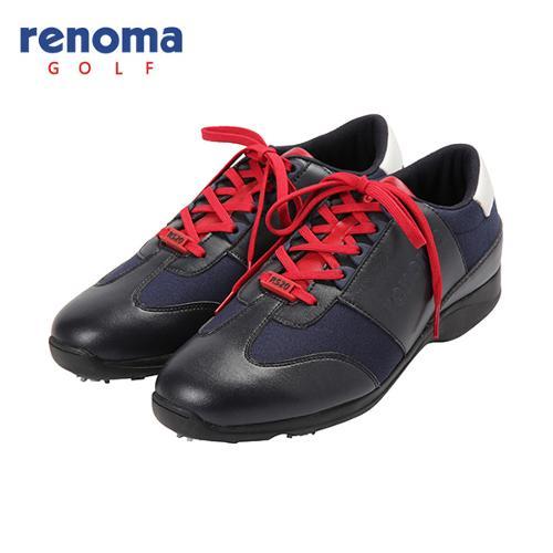 [레노마골프]남성 배색 스파이크 골프화 신발 RMAKF3831-120