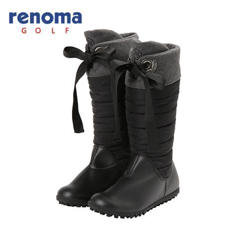 [레노마골프]여성 패딩 스파이크리스 부츠 신발 RWAKF8831-199