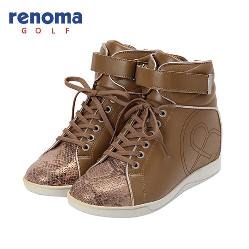 [레노마골프]여성 로고 포인트 배색 하이 신발 RWAKF7832-506