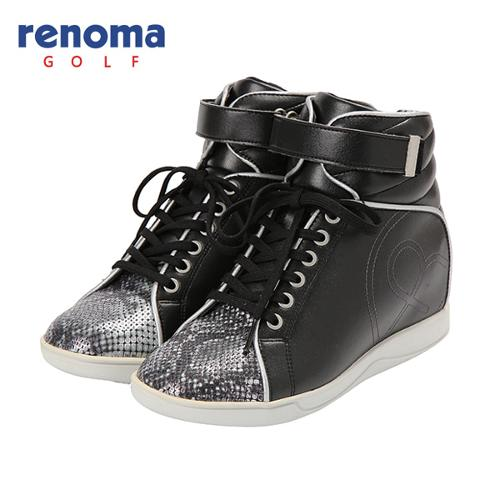 [레노마골프]여성 로고 포인트 배색 하이 신발 RWAKF7832-199