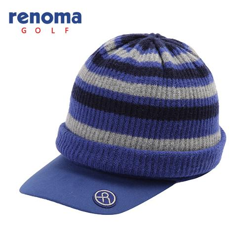 [레노마골프]여성 스트라이프 비니 세트 썬캡 모자 RMACF4802-930