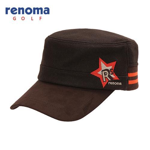 [레노마골프]여성 모혼방 로고 자수 띠배색 군모 모자 RWACF7807-507