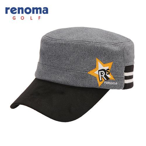 [레노마골프]여성 모혼방 로고 자수 띠배색 군모 모자 RWACF7807-195
