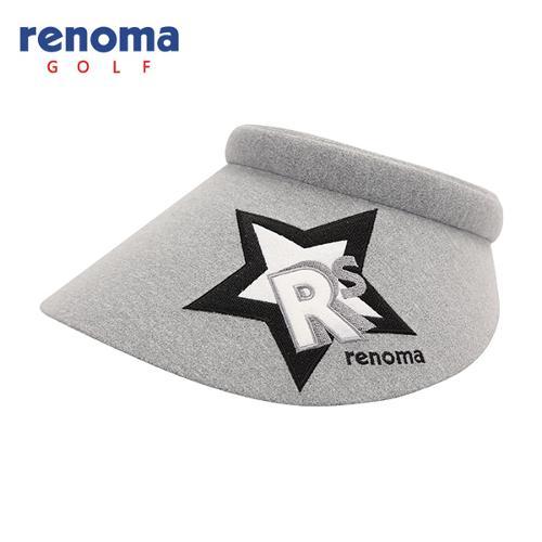 [레노마골프]여성 로고 자수 포인트 썬캡 모자 RWACF7802-193