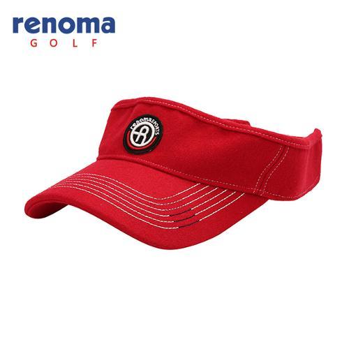 [레노마골프]남성 스티치 로고 포인트 썬캡 모자 RMACF3801-500