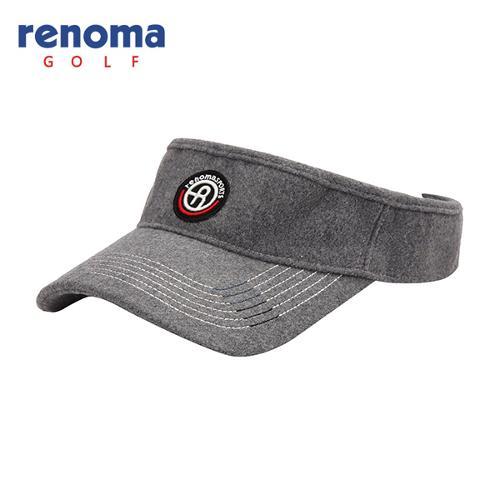 [레노마골프]남성 스티치 로고 포인트 썬캡 모자 RMACF3801-195