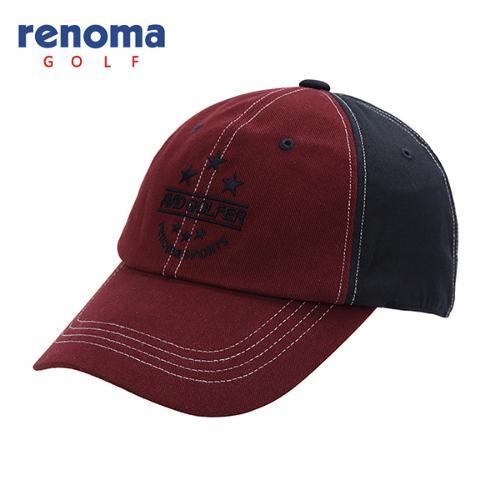 [레노마골프]남성 배색 자수 포인트 캡 모자 RMACF3803-415