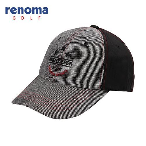 [레노마골프]남성 배색 자수 포인트 캡 모자 RMACF3803-195