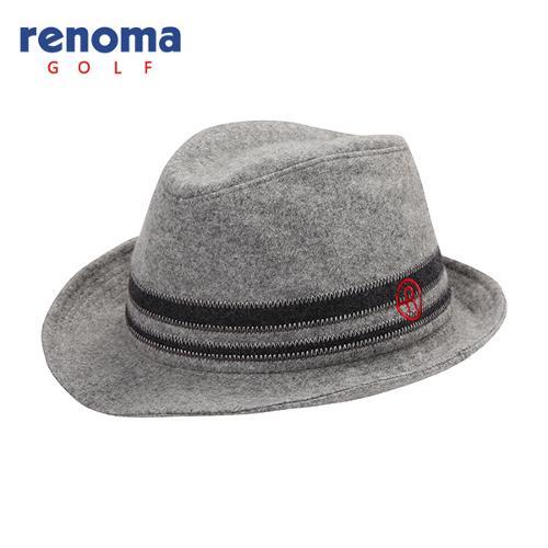 [레노마골프]남성 모혼방 배색 포인트 챙 모자 RMACF3808-193