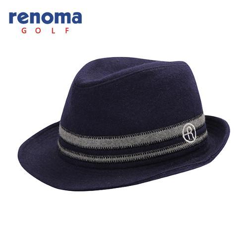 [레노마골프]남성 모혼방 배색 포인트 챙 모자 RMACF3808-120