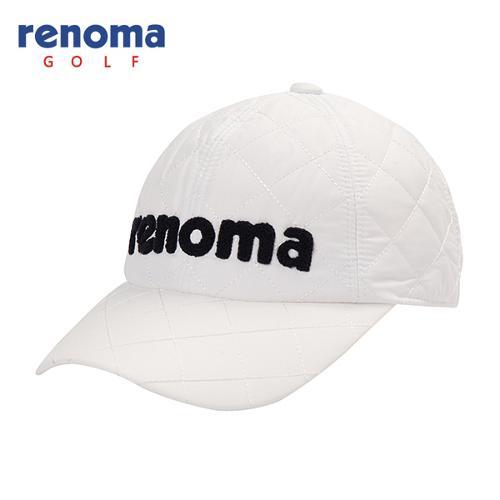 [레노마골프]남성 로고 포인트 퀼팅 캡 모자 RMACF4806-101