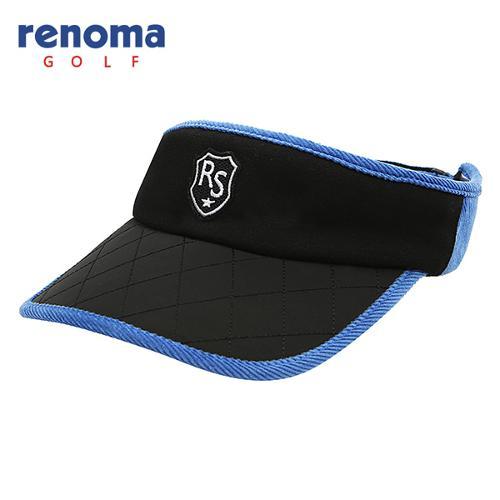 [레노마골프]남성 캐주얼 배색 퀼팅 썬캡 모자 RCCP01541-BK