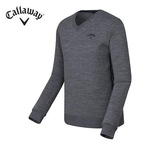 [캘러웨이]남성 베이직 브이넥 스웨터 CMSRF3201-193