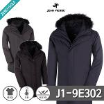 [JEAN PIERRE] 쟌피엘 라쿤 털 덕다운 코트 패딩 Model No_J1-9E302