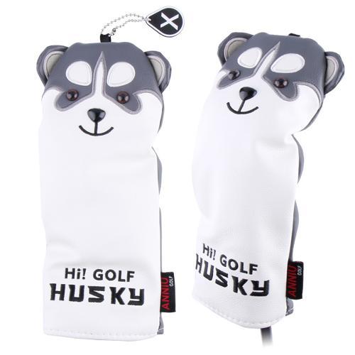 [카시야] 퍼피 강아지 캐릭터 골프 유틸리티커버