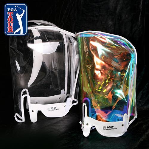 [PGA TOUR] 퓨어 골프백 후드커버 투명/홀로그램