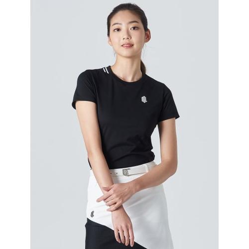 [빈폴골프] [NDL라인] 여성 블랙 원포인트 티셔츠 (BJ0Z42OL35)