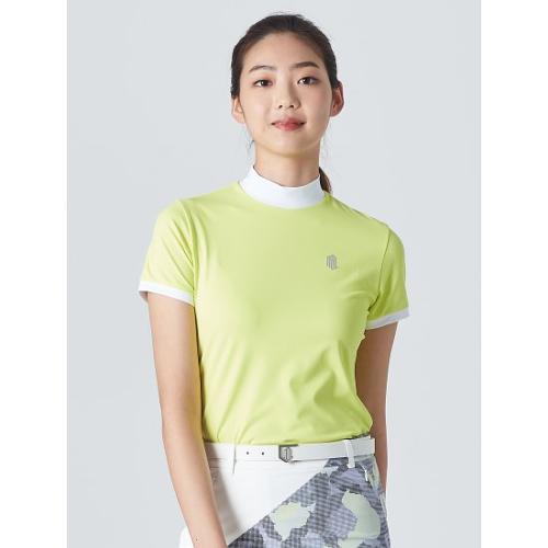 [빈폴골프] [NDL라인] 여성 라이트 그린 하이넥 티셔츠 (BJ0Z42OL2L)
