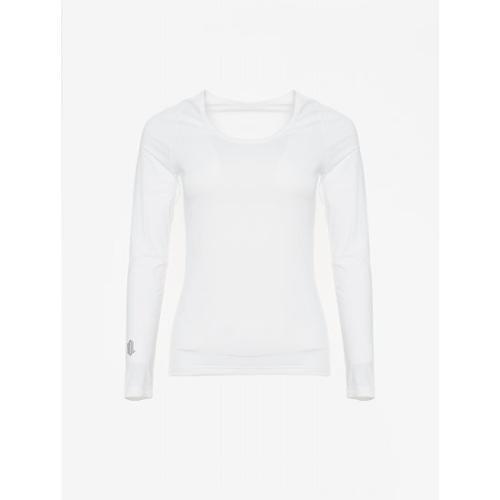 [빈폴골프] [NDL라인] 여성 화이트 쿨스킨 냉감 라운드넥 티셔츠 (BJ0241L411)