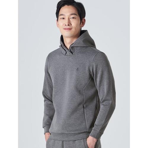[빈폴골프] 남성 애쉬 멜란지 후디 스웨트 셔츠 (BJ0Z41B024)