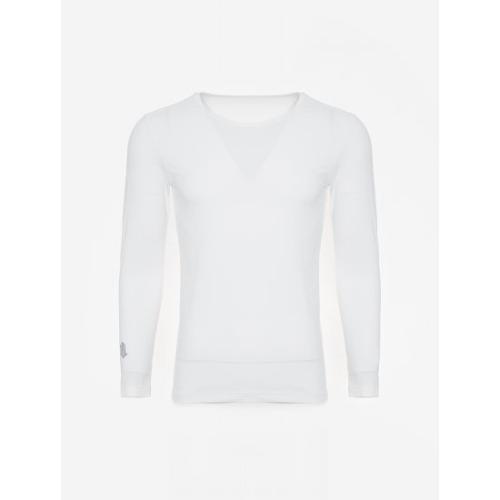 [빈폴골프] [NDL라인] 남성 화이트 쿨스킨 냉감 라운드넥 티셔츠 (BJ0241M411)