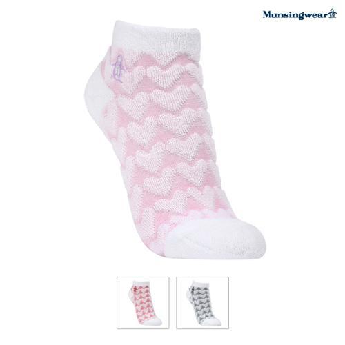 [먼싱웨어] [20SS]여성 패턴 발목 양말 (M0122LSO17)