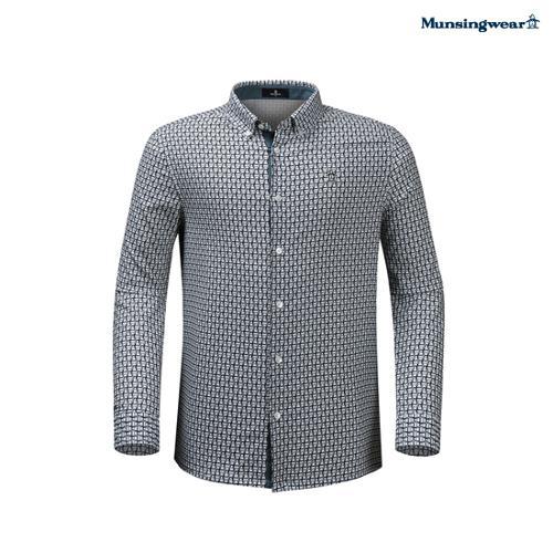 [20SS]남성 잔패턴 우븐셔츠 (M0121MWS21)