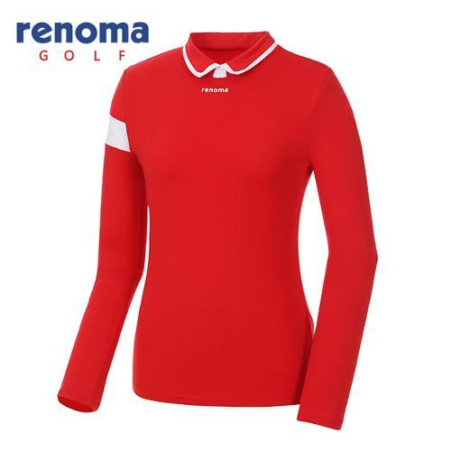 [레노마골프]여성 배색 카라 티셔츠 RWTYG5113-500