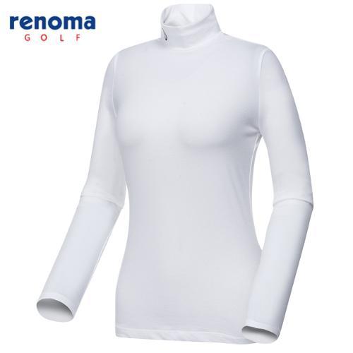 [레노마골프]여성 솔리드 이너 티셔츠 RWTHG5107-100