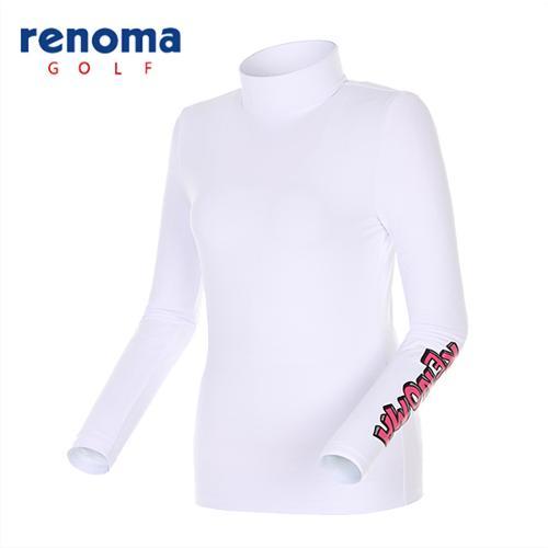 [레노마골프]여성 솔리드 레이어 티셔츠 RWTHG5103-100