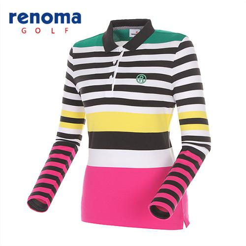 [레노마골프]여성 포인트 카라 티셔츠 RWTPG5102-403