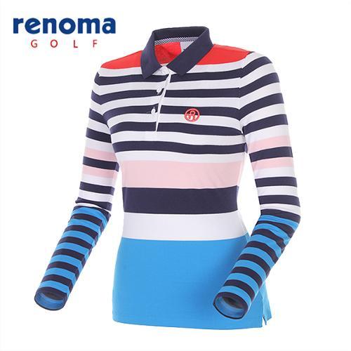 [레노마골프]여성 포인트 카라 티셔츠 RWTPG5102-110