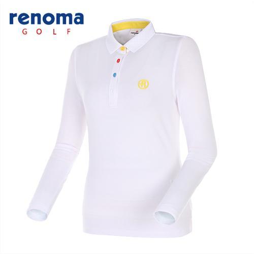[레노마골프]여성 캐주얼 카라 티셔츠 RWTPG5101-100
