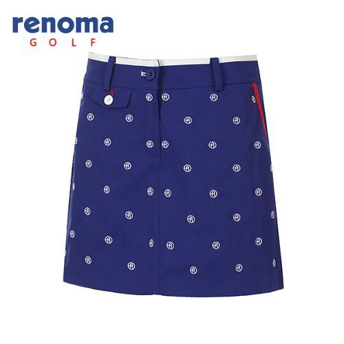 [레노마골프]여성 로고 자수 패턴 큐롯 팬츠 RWPCG5520-907