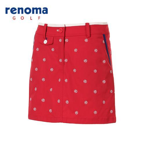 [레노마골프]여성 로고 자수 패턴 큐롯 팬츠 RWPCG5520-500