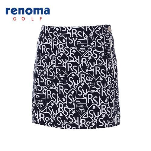 [레노마골프]여성 캐주얼 패턴 큐롯 팬츠 RACU58611-NY