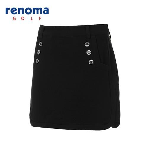 [레노마골프]여성 단추 장식 큐롯 팬츠 RACU54611-BK