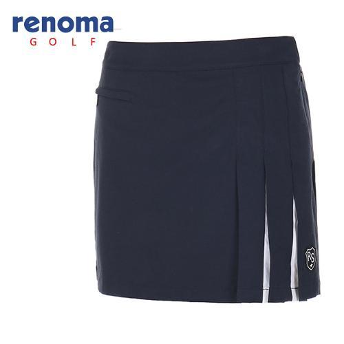[레노마골프]여성 탈착 포켓 플리츠 큐롯 팬츠 RACU52611-NY